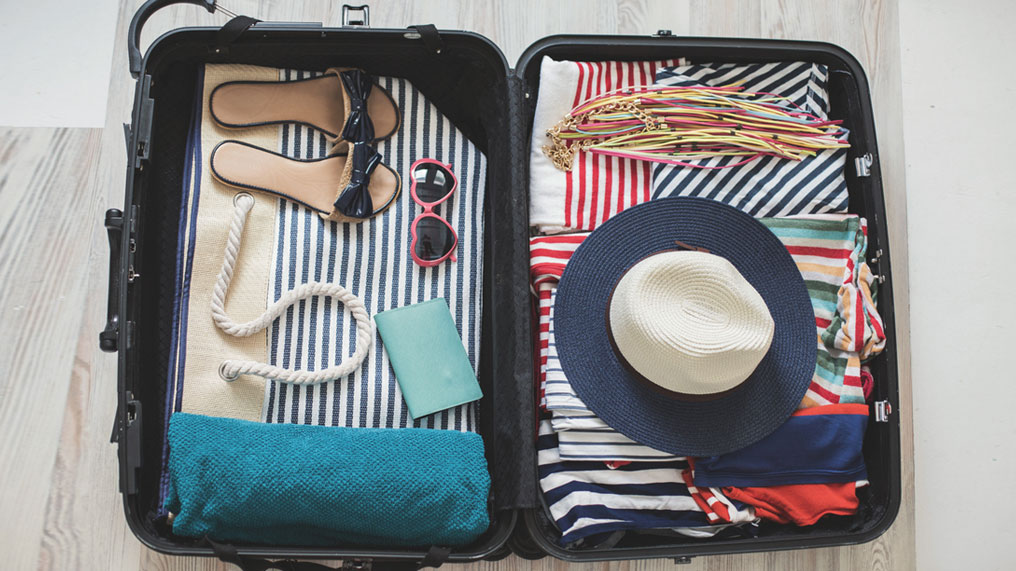 packing for holiday
